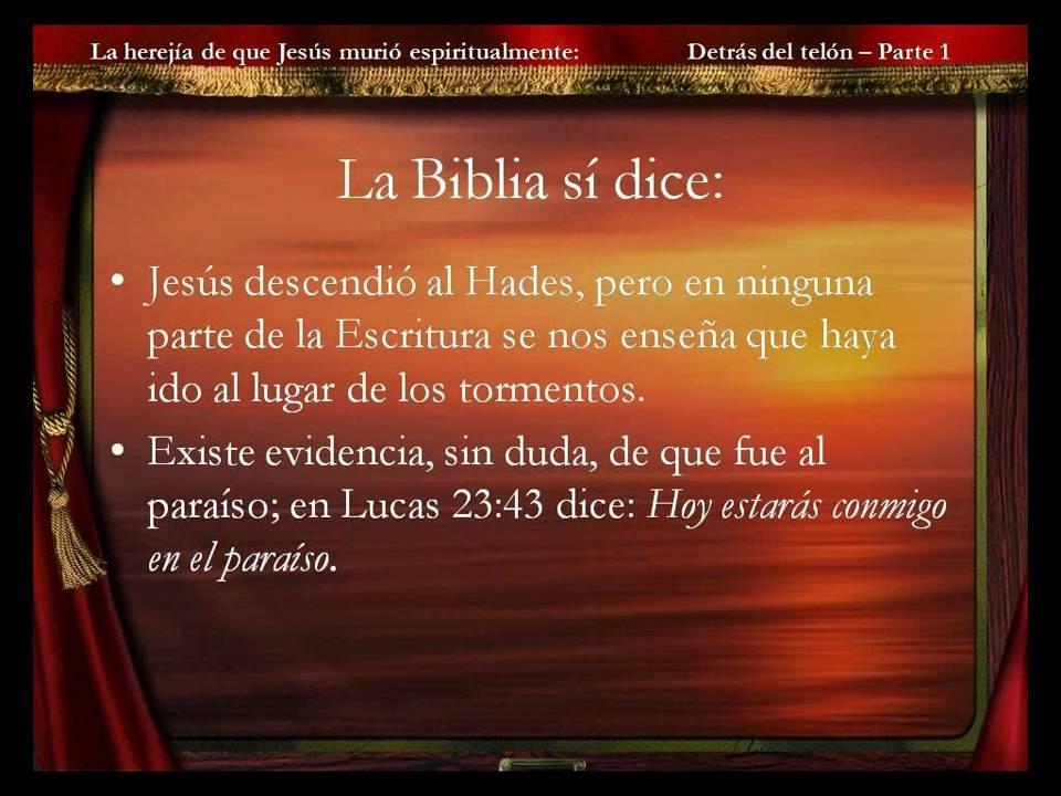 La Muerte Espiritual de Jesús - Parte 1.WMV - YouTube