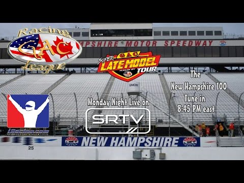 GAC Super Late Model Tour New Hampshire 100