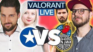 Wir spielen VALORANT gegen Rocket Beans und Bonjwa (WERBUNG)