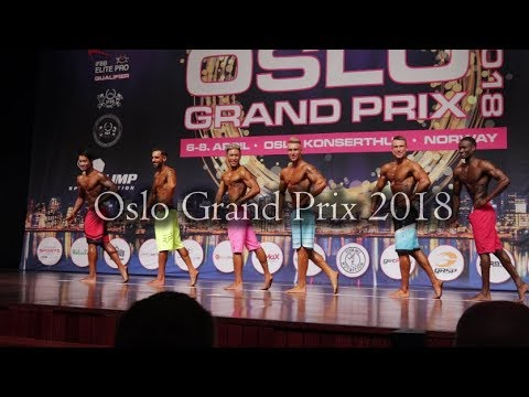 Oslo Grand Prix 2018 | Men's Physique 173 Finals!