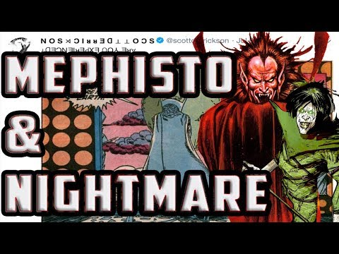 MEPHISTO And NIGHTMARE For Marvel's MCU Phase 4! Are Doctor Strange 2 And Spider-man 3 Connected?