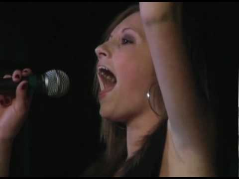 "brittany jones- performs ""and i am telling you"" at..."