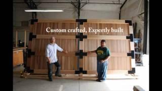 Sederra - Custom Crafted Cedar Gates