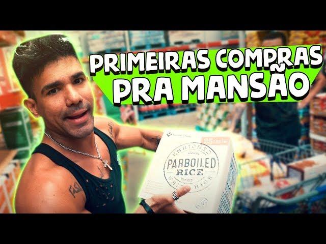 PRIMEIRAS COMPRAS PRA MANSÃO NOS EUA || VLOG 131