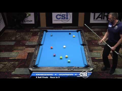 2014 CSI USBTC 9 Ball Final: Shane Van Boening vs Thorsten Hohmann