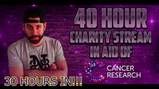 40 HOUR CHARITY STREAM - 30 HOURS IN!!!!! http://www.twitch.tv/nick_28t
