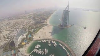 Burj al Arab, Palm Jumeirah & Dubai Skyline in 4k!