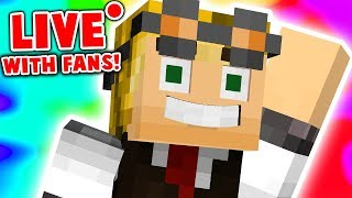 🔴 BEDWARS WITH SUBSCRIBERS! | Minecraft Live Stream ⚔️