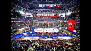 Русская классика 2019 на Газпром Арене Сборная России vs Сборная Финляндии