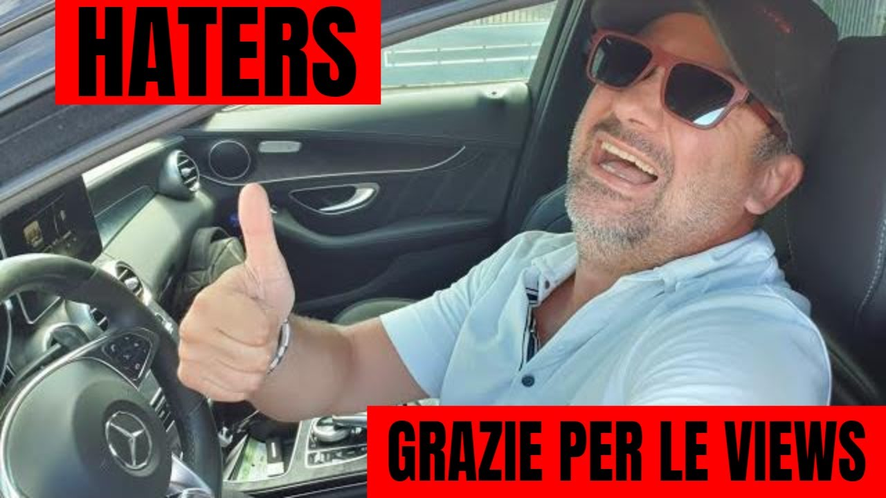 HATERS fate aumentare le VIEWS , grazie mille!!