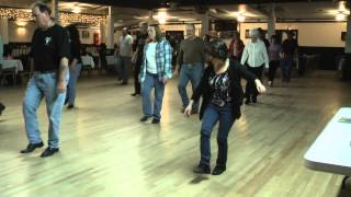 Linedance Lesson Blue Monday  Choreo. Vickie Schermbeck  Music Blue Monday Delbert McClinton