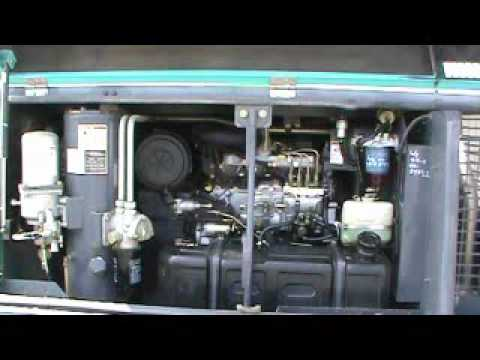 sold for 5 600 2004 mmd airman pds185s 185 cfm towable air rh youtube com Husky Air Compressor Manuals Husky Air Compressor Manuals