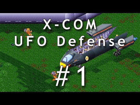 Let's Play X-COM: UFO Defense / UFO: Enemy Unknown #1 - Gameplay German / Deutsch