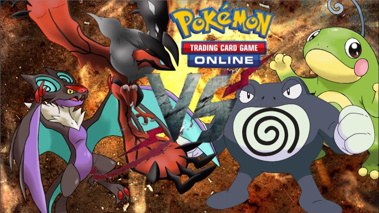 Pokemon TCGO (Live FaceCam) - Noivern/Dusknoir VS. Poliwrath/Politoed - YouTube