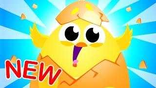 🔴 Surprise Little Eggs! By Little Angel: Nursery Rhymes & Kid's Songs