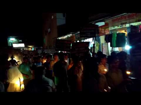 Candle March of Youth for Right to Employment in Allahabad