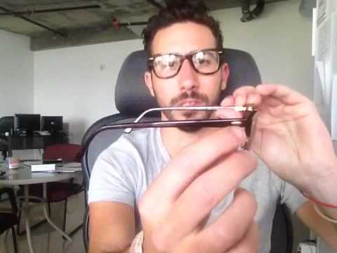 authentic ray ban eyeglasses  How To Tell if Your Ray-Ban Clubmaster Sunglasses are Real - YouTube