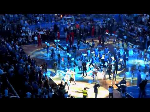 Orlando Magic and Atlanta Hawks Playoff Intro 2011
