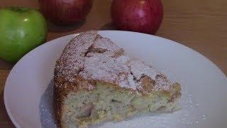 ПИРОГ с яблоками,ШАРЛОТКА,самый ПРОСТОЙ рецепт!ВКУСНО!