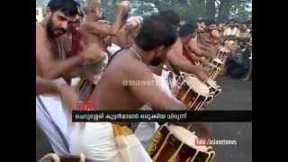 Sabarimala News : ശബരിമലയില് മേളപ്പെരുക്കം