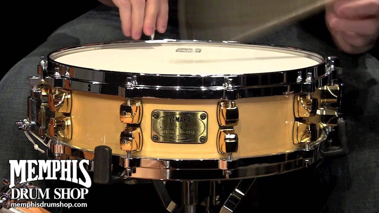 Yamaha 14 x 4 maple custom snare drum youtube for Yamaha sports plaza promo code