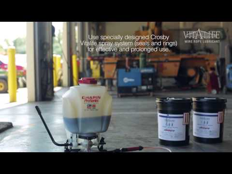 Vitalife Wire Rope Lubricant
