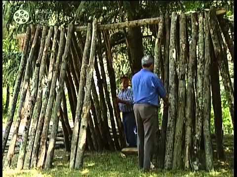 La capanna del carbonaio youtube for Costruire una semplice capanna di legno