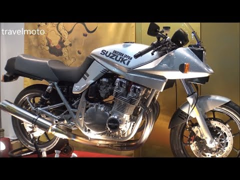 Suzuki Katana in Tokyo Motorcycle show 2018