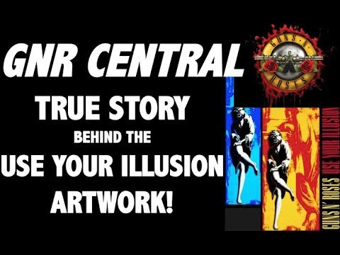Guns N' Roses Documentary: The True Story Behind The Use Your Illusion Album Artwork!