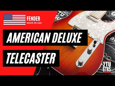 Fender American Deluxe Telecaster Review & Demo
