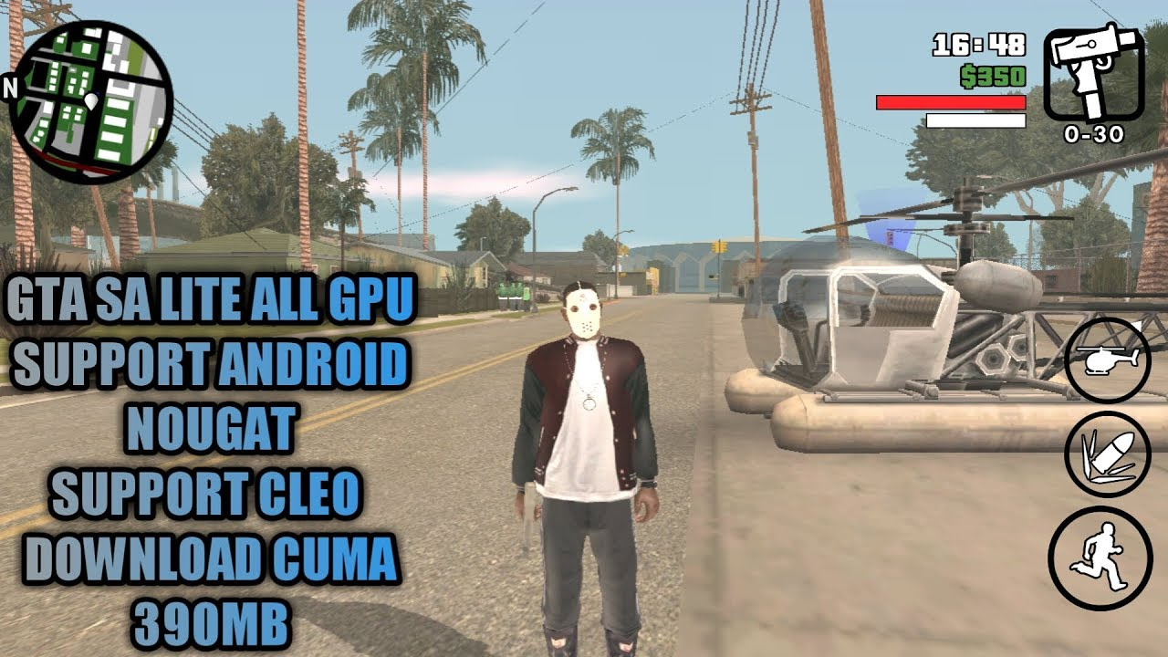 Gta san andreas lite | GTA San Andreas Lite Apk + Data V9 Android