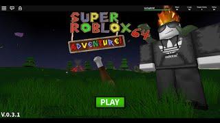 [ROBLOX] Super RŌBLOX 64 Adventure Glitches: High jump glitch
