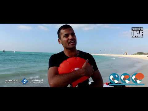 Kingii the smallest lifesaver for surfers and watersports, Dubai Beach