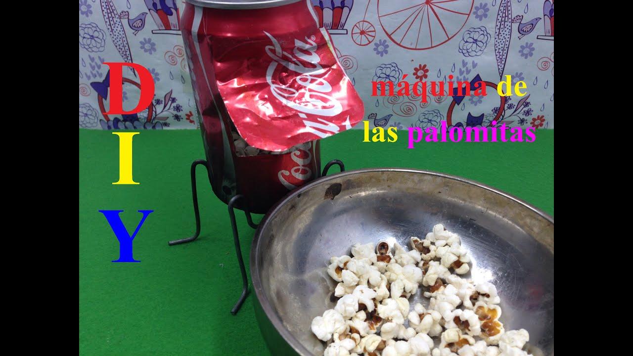 Tutorial hacer palomitas de ma z de la m quina diy - Como hacer palomitas de caramelo caseras ...
