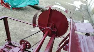 Тракторная пила для дров.Трактор Т-25