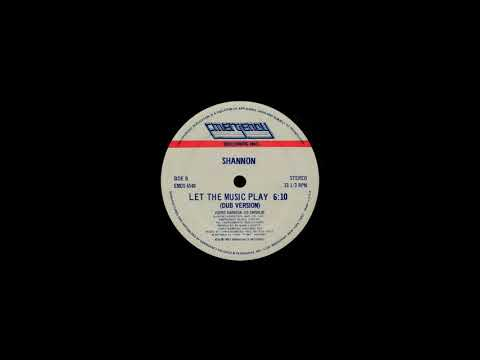 Shannon - Let The Music Play (Vocal & Dub Version)