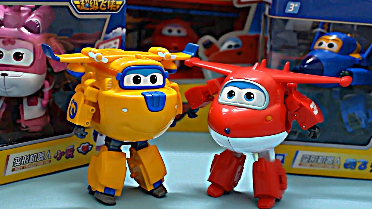 super wings transforming planes toy review youtube. Black Bedroom Furniture Sets. Home Design Ideas