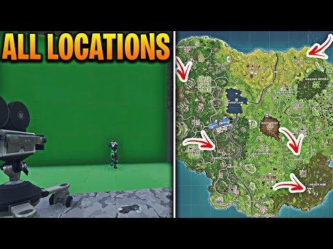 all fortnite film camera spawn locations in fortnite battle royale fortnite film camera locations - 7 camera locations fortnite