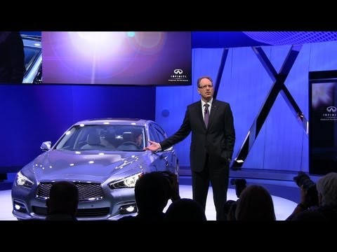 Watch the new 2014 Infiniti Q50 Debut at the Detroit Auto Show