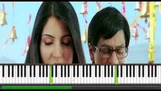 Tujh Mein Rab Dikhta Hain Piano Instrumental Cover - Manoj Yarashi