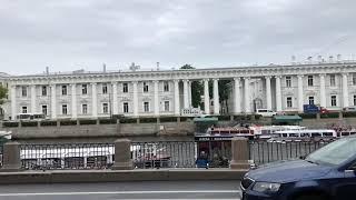 Путешествие в Москву и Питер. Санкт-Петербург, день 1 / Видео