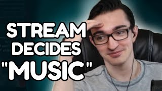 "GIVING MY STREAM CONTROL OF THE ""MUSIC"" (it was mostly memes)"