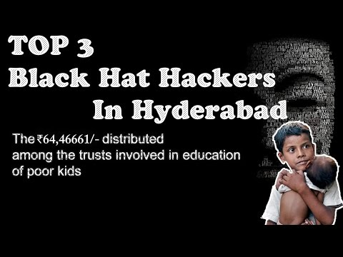 Top 3 black hat hackers in hyderabad