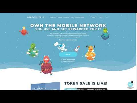 Miracle Tele - первая в мире полнофункциональная телекоммуникационная система на блокчейн.