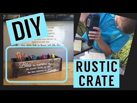 DIY Rustic Centerpiece || Free Beginner Woodworking Project