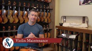 Instrument Maintenance For Stringed Instruments | KV
