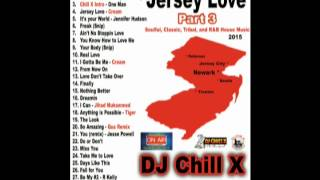 Jersey Love Club Mix Part 3 DJ Chill X - Past, Present and Future House Music hits