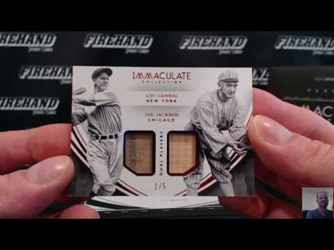 2016 Immaculate Baseball 8 Box Case Break Pick Your Teams #27 ~ 7/24/17