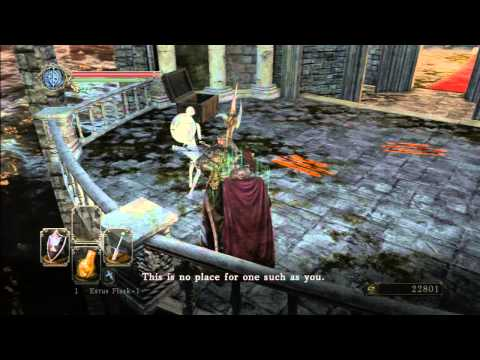Dark Souls II (27) Cathedral of Blue: Silent Knight