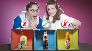 You DON'T Want To Choose The Wrong DRINK! *DEATH STRAW CHALLENGE*